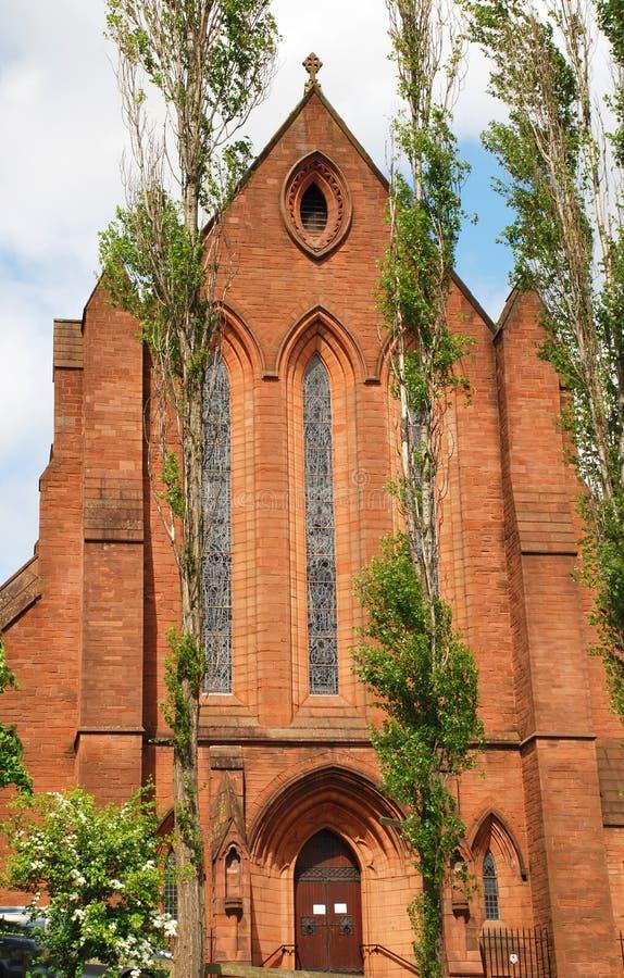 Baronnie Hall à Glasgow, Ecosse photos libres de droits