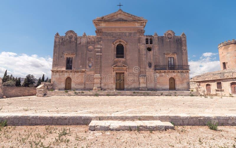 Baroque abandoned church royalty free stock photo