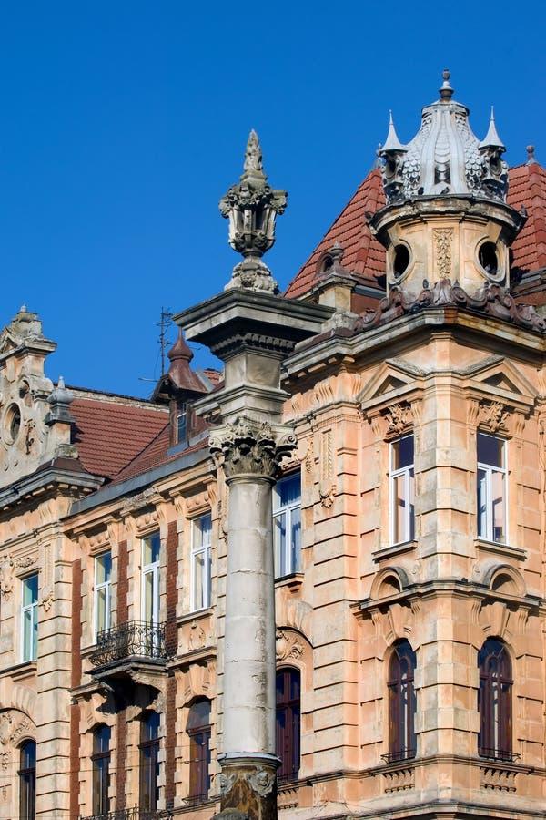 Baroque architecture stock image