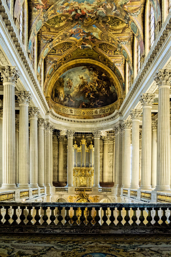 Baroque architecture royalty free stock photography