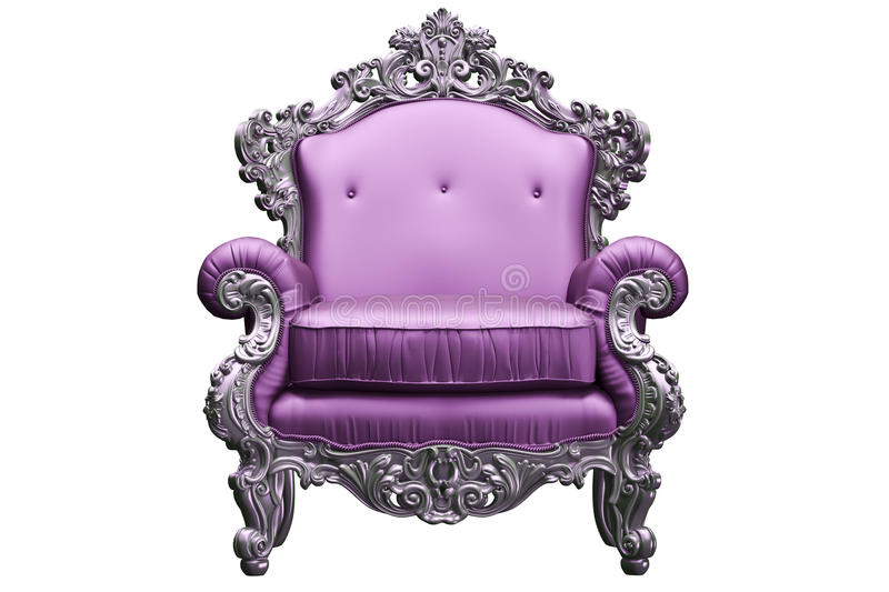 Download Baroque armchair stock image. Image of luxury, pattern - 27579087