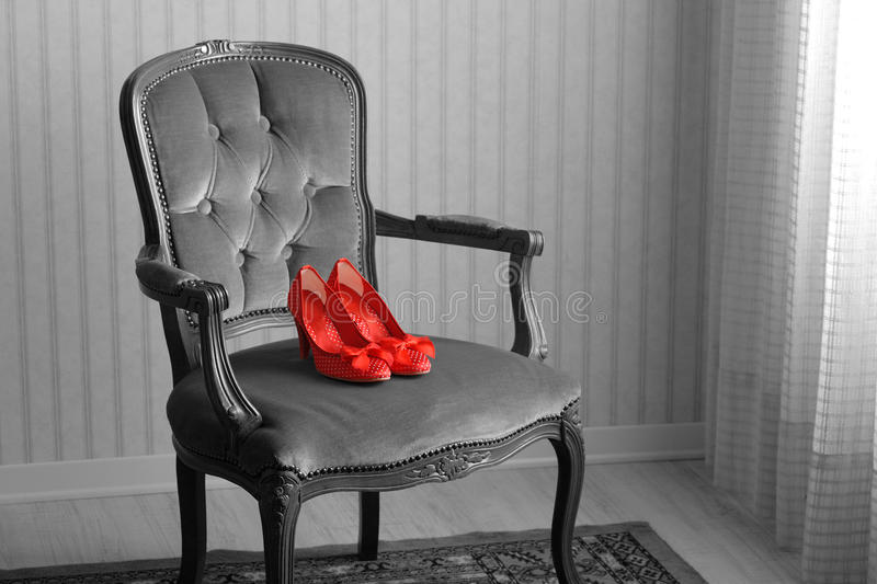 Download Baroque armchair stock image. Image of space, shoes, indoors - 30824871