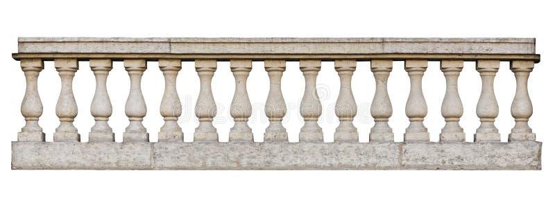 Baroque balustrade stock photos