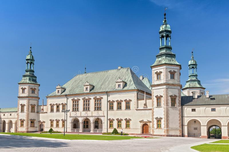 Baroque castle, Bishop s Palace in Kielce, Poland, Europe. Baroque castle, Bishop s Palace in Kielce, Poland Europe stock photography