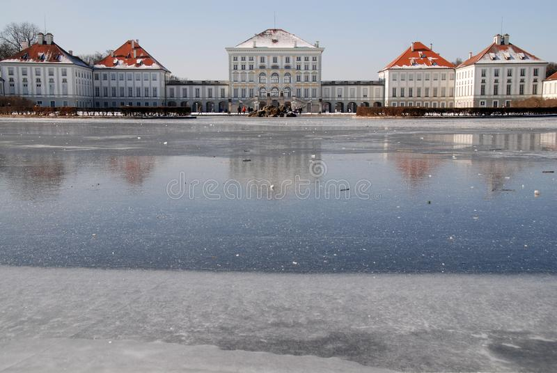 Nymphenburg Castle in Munich royalty free stock photo
