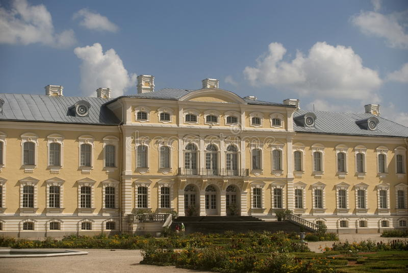 Download Baroque Castle, Rundale, Latvia Royalty Free Stock Photography - Image: 20428467