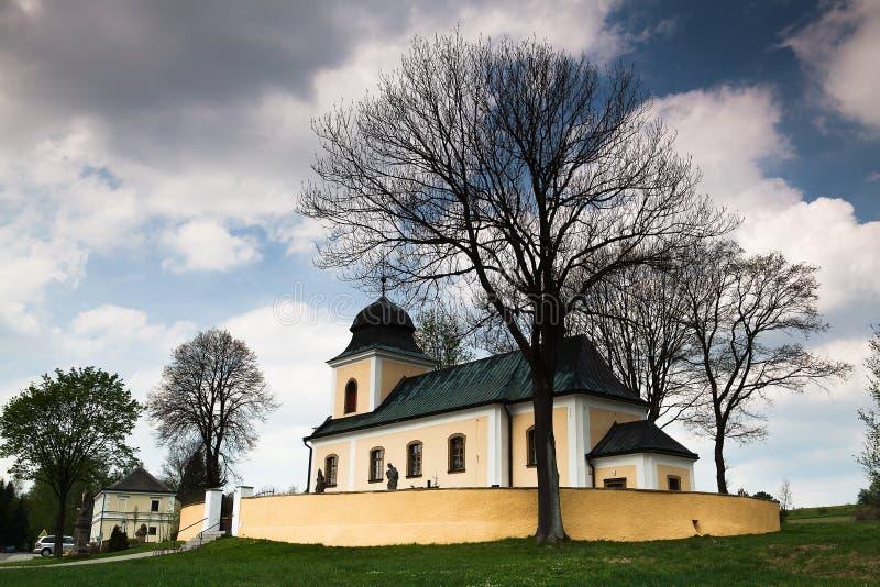 Baroque Church Royalty Free Stock Photography