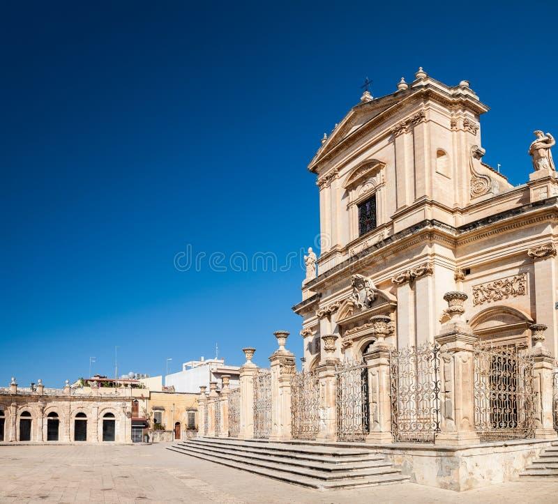 Santa Maria Maggiore, Ispica, Sicily stock photo