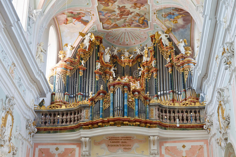 Download Baroque Church Organ stock photo. Image of cathedral - 21485126