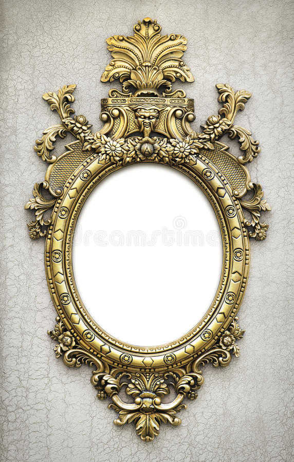 Download Baroque Frame stock photo. Image of aged, elegance, carved - 31545288