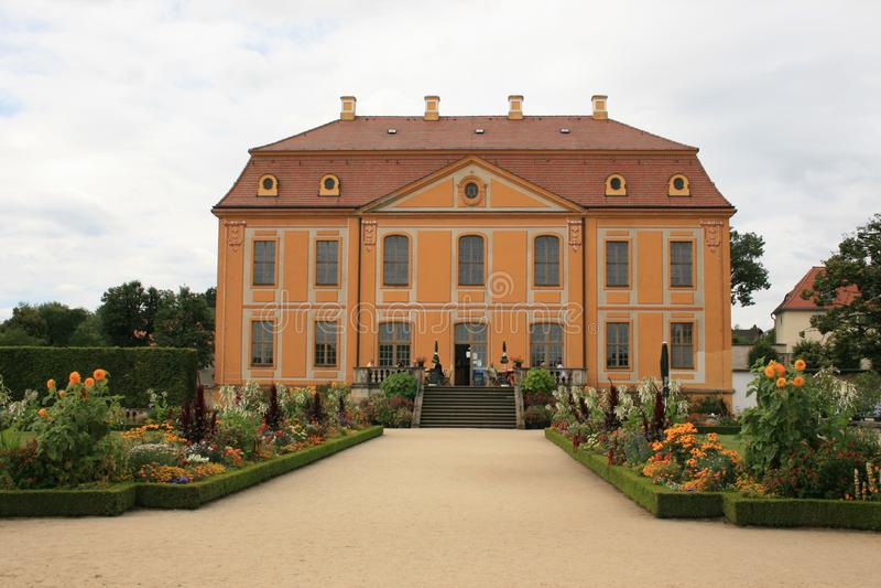 Baroque Garden Stock Photo