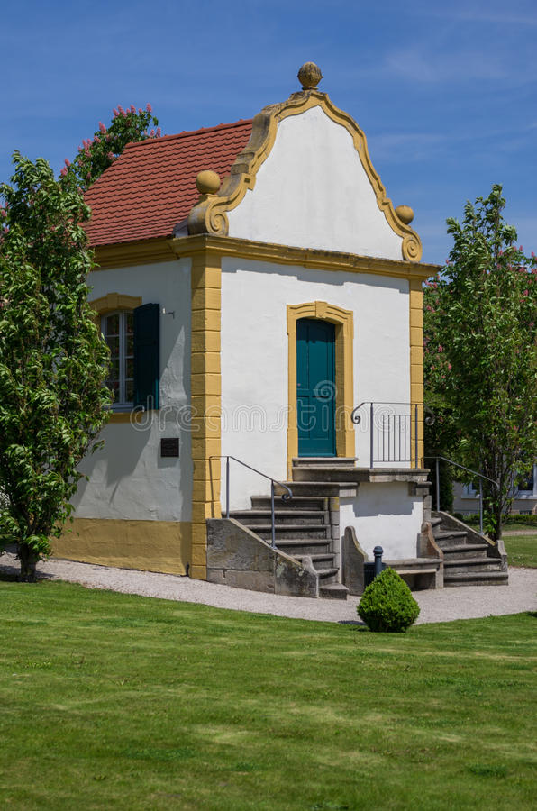 Download Baroque garden house stock image. Image of architecture - 24754567