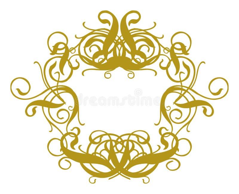 Baroque II del blocco per grafici royalty illustrazione gratis