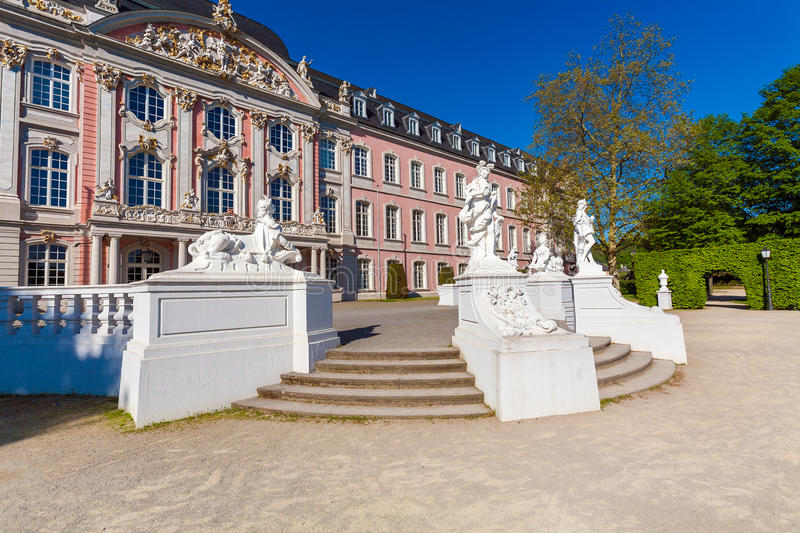 Baroque Kurfurstliches Palace, Trier stock images