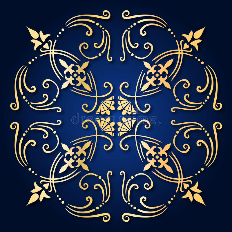 Download Baroque ornament stock vector. Image of ancient, flowers - 13982908