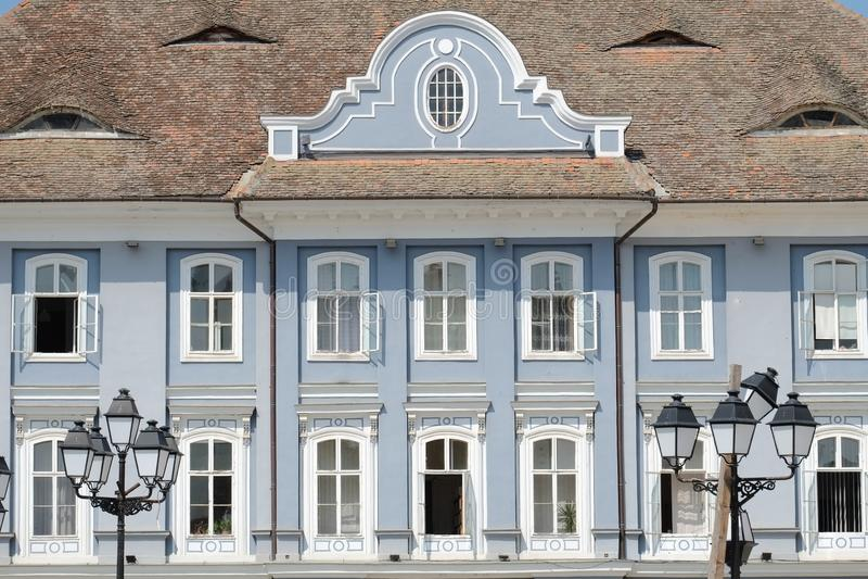 Baroque Palace In Timisoara, Romania. Baroque Palace in Square Unirii in Timisoara, Romania royalty free stock photo