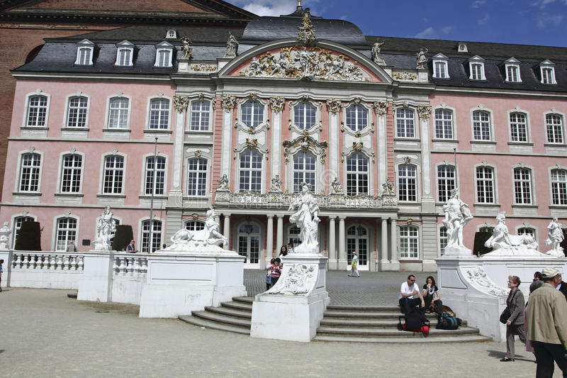 Download Baroque Palais In Trier Editorial Stock Photo - Image: 24597068