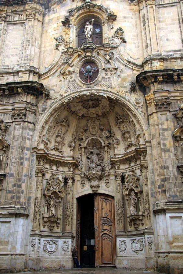 Baroque portal royalty free stock photo