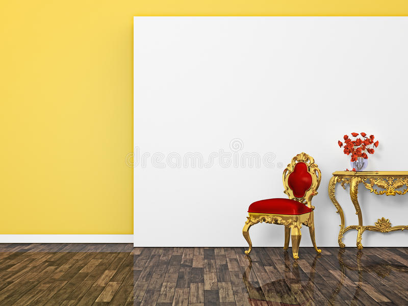Baroque Room Royalty Free Stock Image