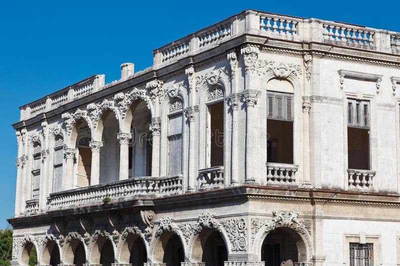 Download Baroque in ruins stock image. Image of ornament, street - 18209375