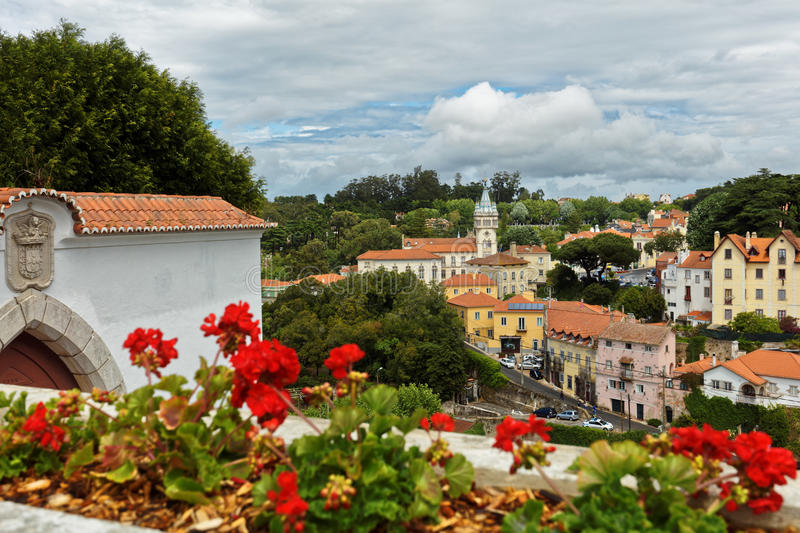 Download Baroque Tower Of Town Hall Of Sintra, Portugal Editorial Stock Photo - Image: 93754983
