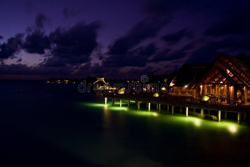 Baros par Night images stock