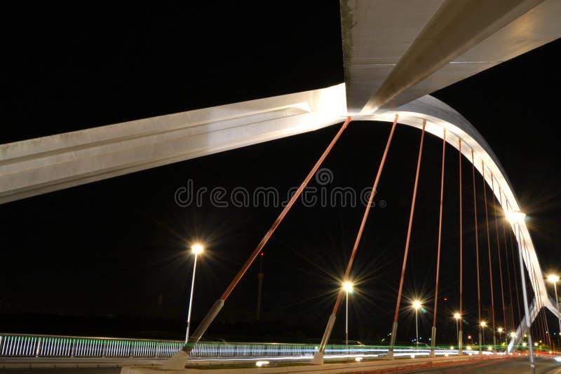 Barqueta' s Bridge in Seville stock photography
