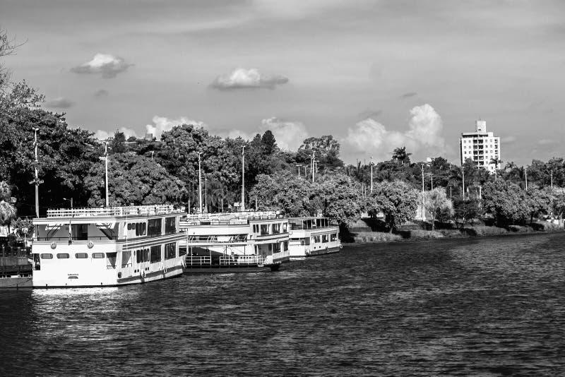 Barra Bonita-toerisme royalty-vrije stock foto