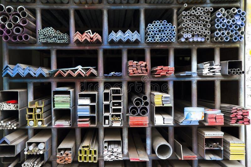 Barra d'acciaio fotografia stock