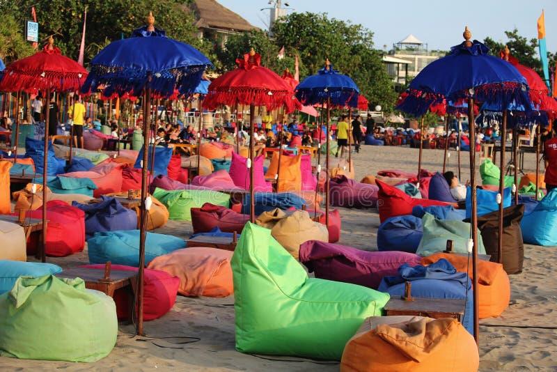 Barra da praia de Bali Canggu imagens de stock royalty free