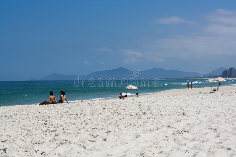 Barra da Tijuca royalty free stock images