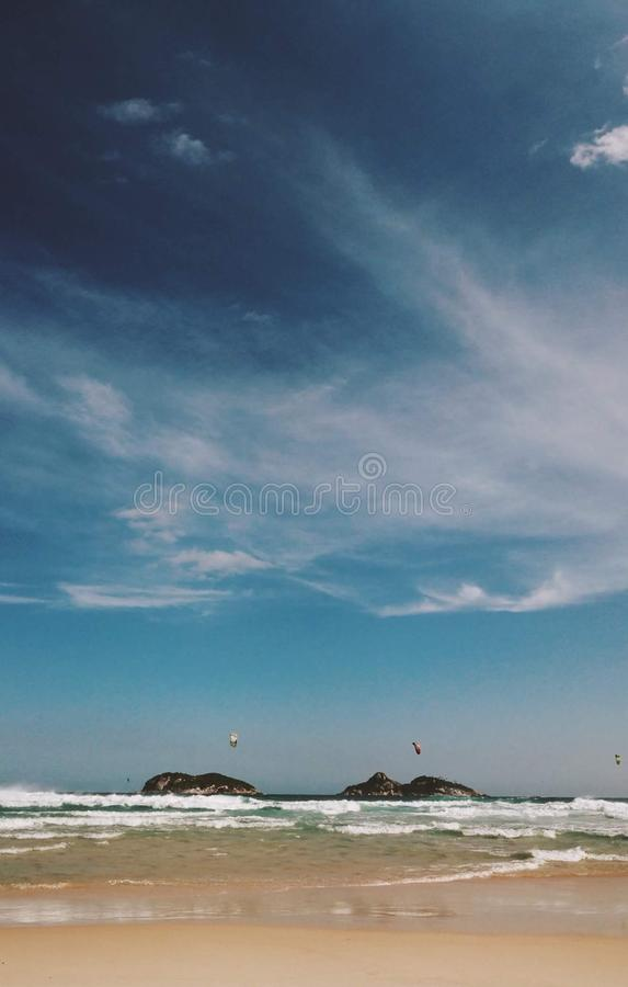 Let& x27;s go to the beach royalty free stock image