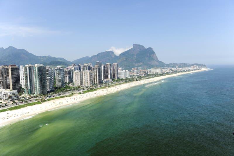 Barra da Tijuca, Rio de Janeiro immagini stock libere da diritti