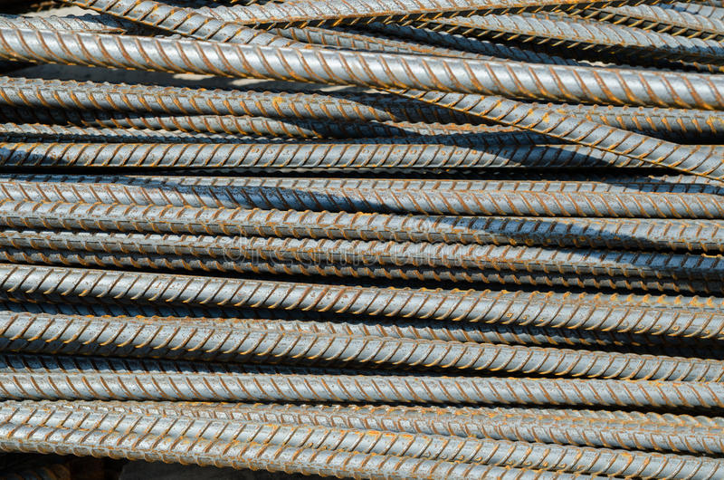 Barra de aço imagens de stock
