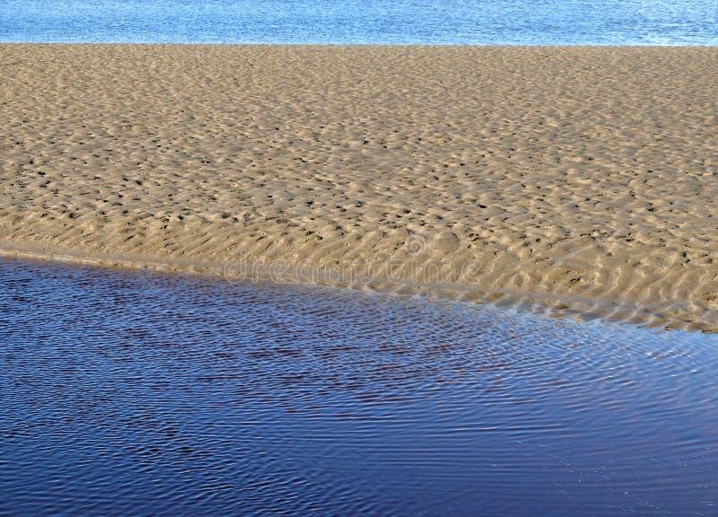 Barra de areia imagens de stock