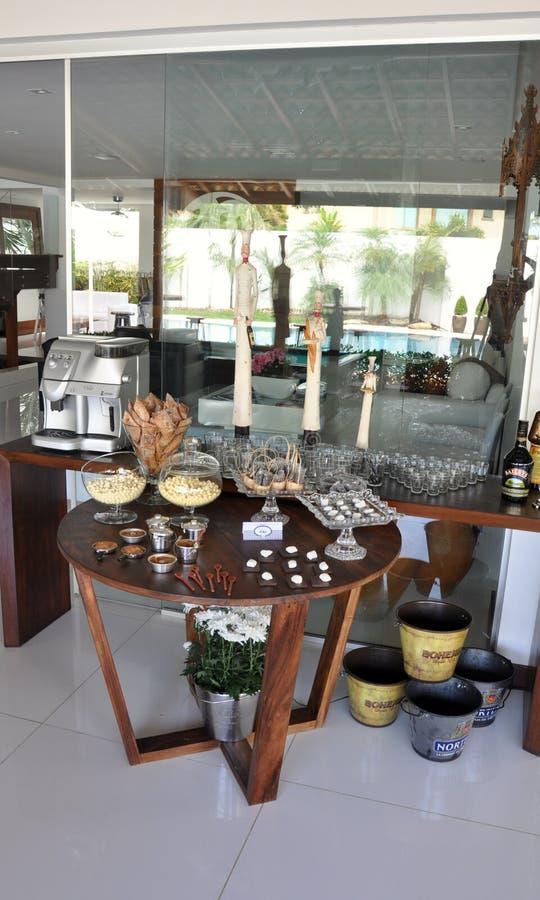 Barra de Café foto de archivo