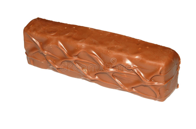 Barra de chocolate foto de stock