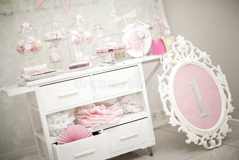Barra de chocolate cor-de-rosa imagem de stock royalty free