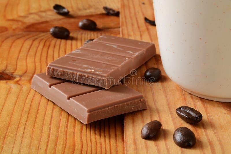 Barra de chocolate do leite imagens de stock royalty free
