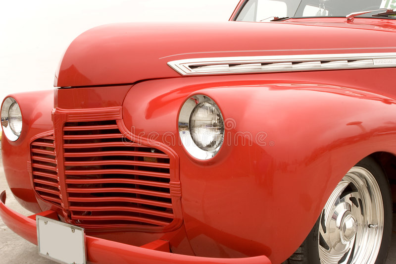 barra de la calle de Chevy de los años 40 imagen de archivo libre de regalías