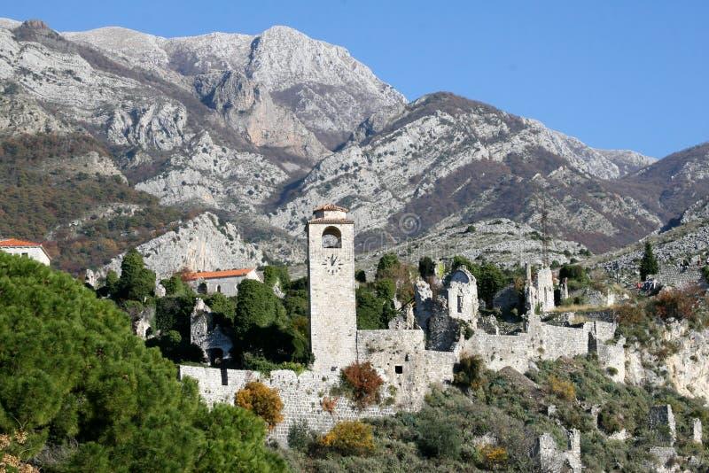 barra de la Viejo-ciudad - Montenegro fotografía de archivo libre de regalías