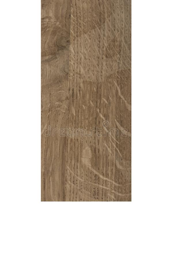 Barra de madera aislada en blanco imagen de archivo