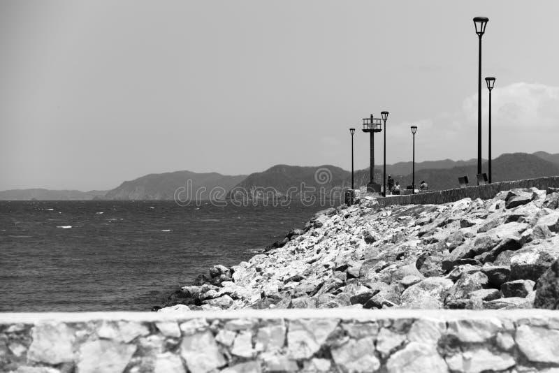 Barra de Navidad Bay royaltyfria foton