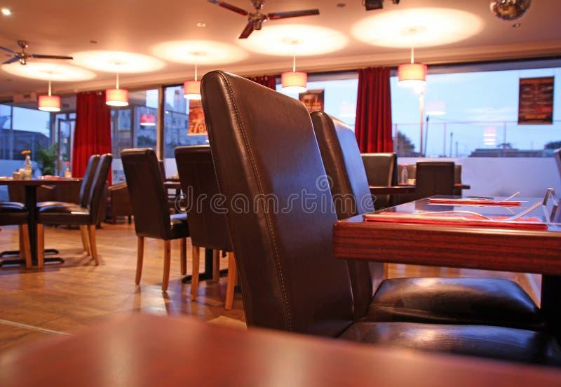 Barra del café del salón del restaurante fotos de archivo