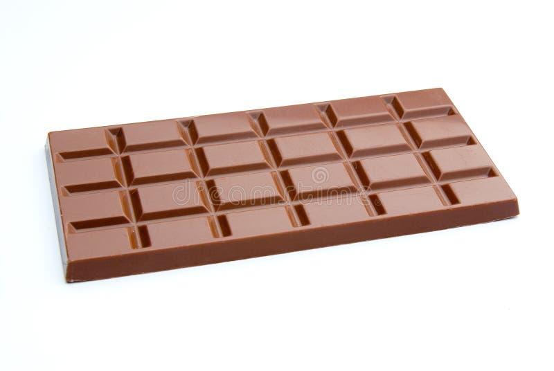 Barra del chocolate imagen de archivo libre de regalías