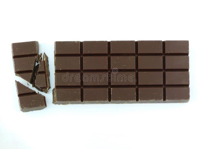 Barra del chocolate fotografía de archivo libre de regalías