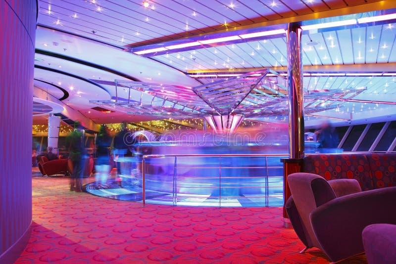 Barra del club nocturno foto de archivo libre de regalías