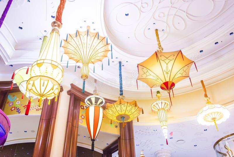 Barra del parasol de Las Vegas foto de archivo libre de regalías