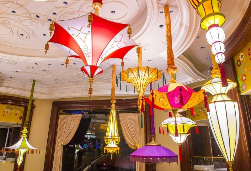 Barra del parasol de Las Vegas imagen de archivo libre de regalías
