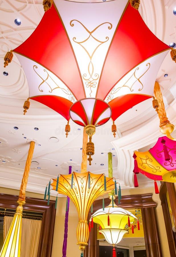 Barra del parasol de Las Vegas fotos de archivo
